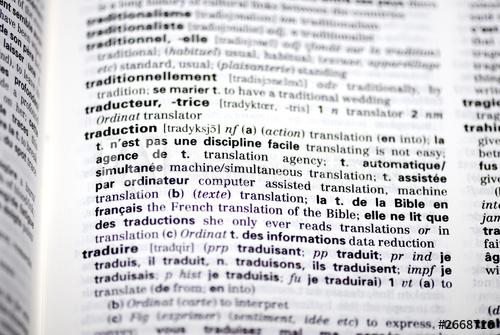 Définition traduction dico.